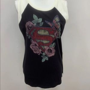 Superman sleeveless tshirt